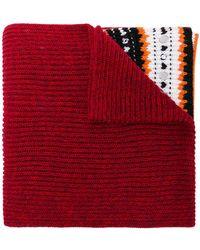 Dondup - Embellished Knit Scarf - Lyst
