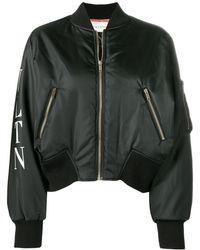 Valentino Vltn ボンバージャケット - ブラック