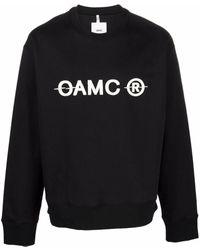 OAMC ロゴ プルオーバー - ブラック