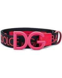 Dolce & Gabbana - Dgロゴ ベルト - Lyst