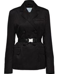 5e07337047 Gabardine Jacket - Black