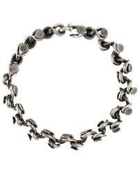 Guidi 925 Chiodi Bracelet - Metallic