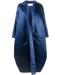 Loulou オーバーサイズ コート - ブルー