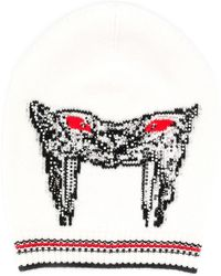 Ermanno Scervino Cashmere embellished beanie - Blanco