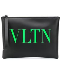 Valentino - Vltn ポーチ - Lyst