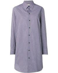 Maison Margiela - チェック ロングラインシャツ - Lyst