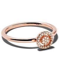 Astley Clarke Mini 'icon Aura' Diamond Ring - Metallic