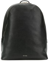 Paul Smith Signature Stripe Straps Backpack - Черный