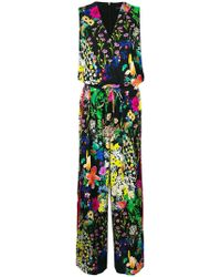 Etro - Floral Printed Jumpsuit - Lyst