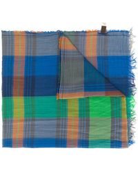 Altea - Plaid Scarf - Lyst