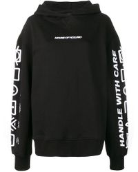 House of Holland - Sudadera Handle with Care con capucha - Lyst