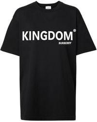 Burberry - Kingdom Print T-shirt - Lyst