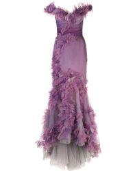 Marchesa - フィッシュテール ドレス - Lyst