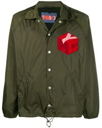 YMC ロゴ ジャケット - グリーン