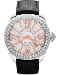 Backes & Strauss Piccadilly Steel Sp 40mm - White