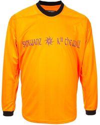 Sankuanz T-shirt Kill The Wall - Orange