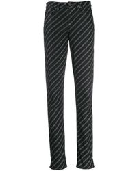 Karl Lagerfeld ロゴ ジーンズ - ブラック