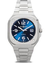 Bell & Ross Reloj BR 05 Blue Steel de 40mm - Azul