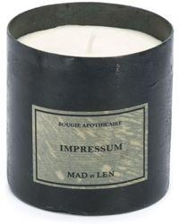 Mad Et Len Impressum Candle (330g) - Black