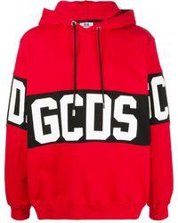 Gcds Худи С Логотипом - Красный