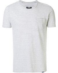 Woolrich ボーダーtシャツ - マルチカラー
