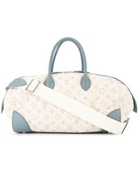 Louis Vuitton Snelle Gm-draagtas - Wit
