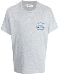 Pasadena Leisure Club Logo-print Short-sleeved T-shirt - Grey