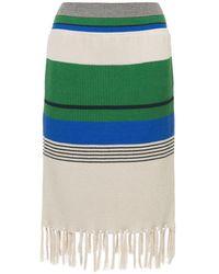 Coohem Ribbed Knit Skirt - Multicolor