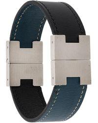 Hermès Pre-owned Armband mit H-Schnalle - Schwarz