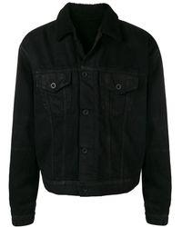 Unravel Project ファーカラー ジャケット - ブラック