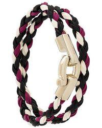 Ferragamo | Braided Bracelet | Lyst