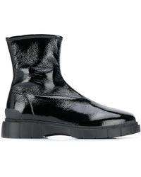 Car Shoe アンクルブーツ - ブラック