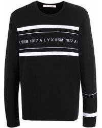 1017 ALYX 9SM ロゴ スウェットシャツ - ブラック