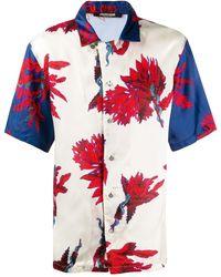 Roberto Cavalli Рубашка С Принтом - Многоцветный
