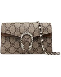 Gucci Dionysus GG Supreme Super Mini Bag - Multicolour