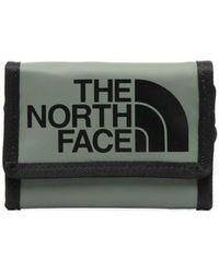 The North Face Portefeuille à logo imprimé - Vert