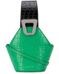 Danse Lente Sculpted Bag - グリーン