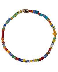 Luis Morais Flower Charm Bracelet - Multicolor