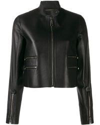 Fendi Куртка С Логотипом Ff - Черный
