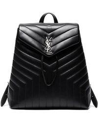 Saint Laurent - Medium Monogramme Soft Backpack - Lyst
