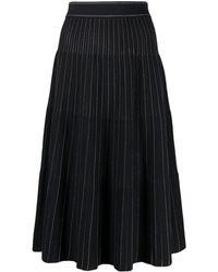 Diane von Furstenberg Sammy ニットスカート - ブルー