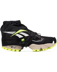 Reebok Instapump Fury Trail Shroud Sneakers - Black