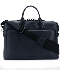 Troubadour Pathfinder Slim Briefcase - Blue