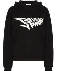 Givenchy ロゴプリント パーカー - ブラック