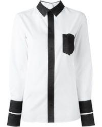 Maison Margiela - Colour Block Shirt - Lyst