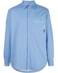 GR10K パッチポケット シャツ - ブルー