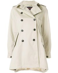 Woolrich - Short Trench Coat - Lyst