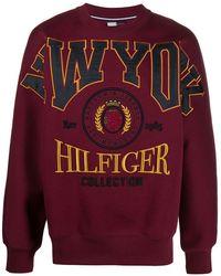 Tommy Hilfiger ロゴ スウェットシャツ - レッド