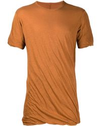 Rick Owens - ドレープ Tシャツ - Lyst