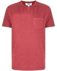 YMC Wild Ones チェストポケット Tシャツ - レッド